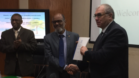 IAEA Delivers Report on Nuclear Power Infrastructure Development to Sudan