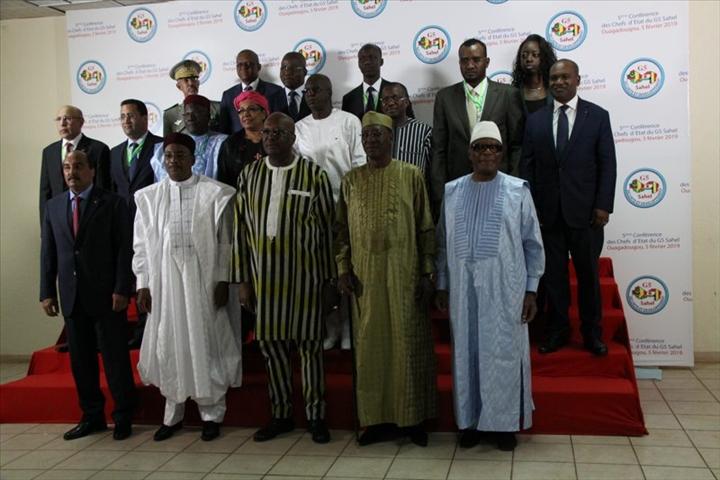 Burkina/G5 Sahel – Communiqué final 5eme session ordinaire de la conférence des chefs d'état(05/02/2019)
