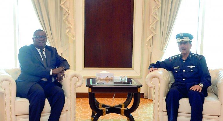 Qatar/Burkina Faso – Director of Public Security meets Burkina FasoAmbassador
