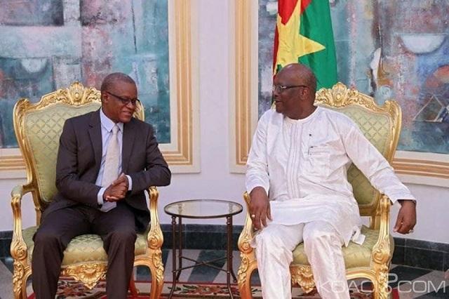 Burkina Faso/G5 Sahel : Le président Roch Kaboré échange avec le secrétaire permanent sur la feuille deroute