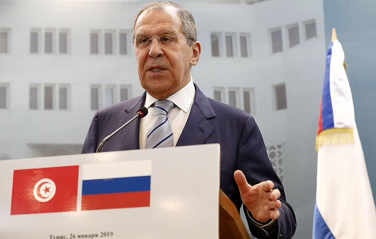 Russia and Tunisia boost cooperation on anti-terrorism efforts, says Lavrov
