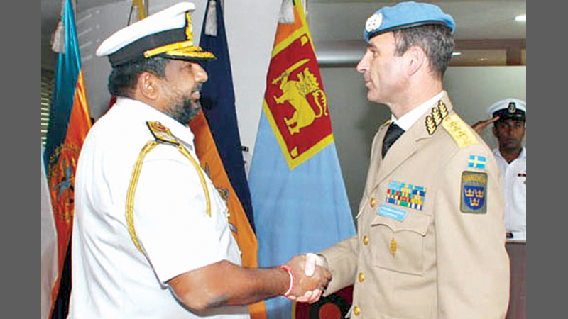 Mali/Sri Lanka – UN Force Commander calls on CDS