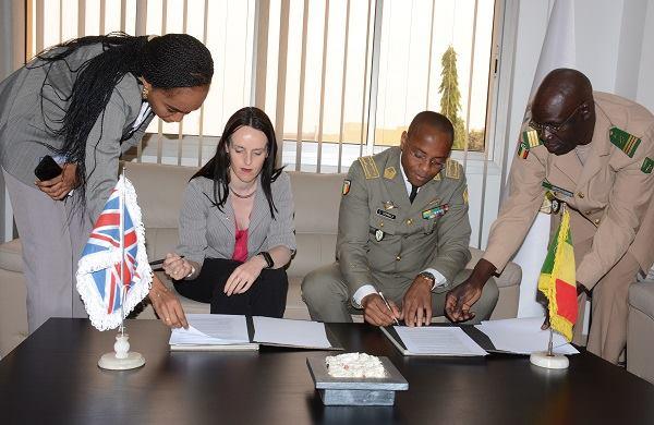 Mali/UK – École de Maintien de la Paix : La bonnecollaboration