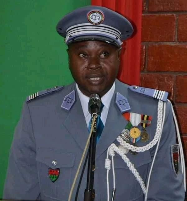 Burkina Faso : Démission du directeur général de la garde de sécurité pénitentiaire, GeoffroyYogo
