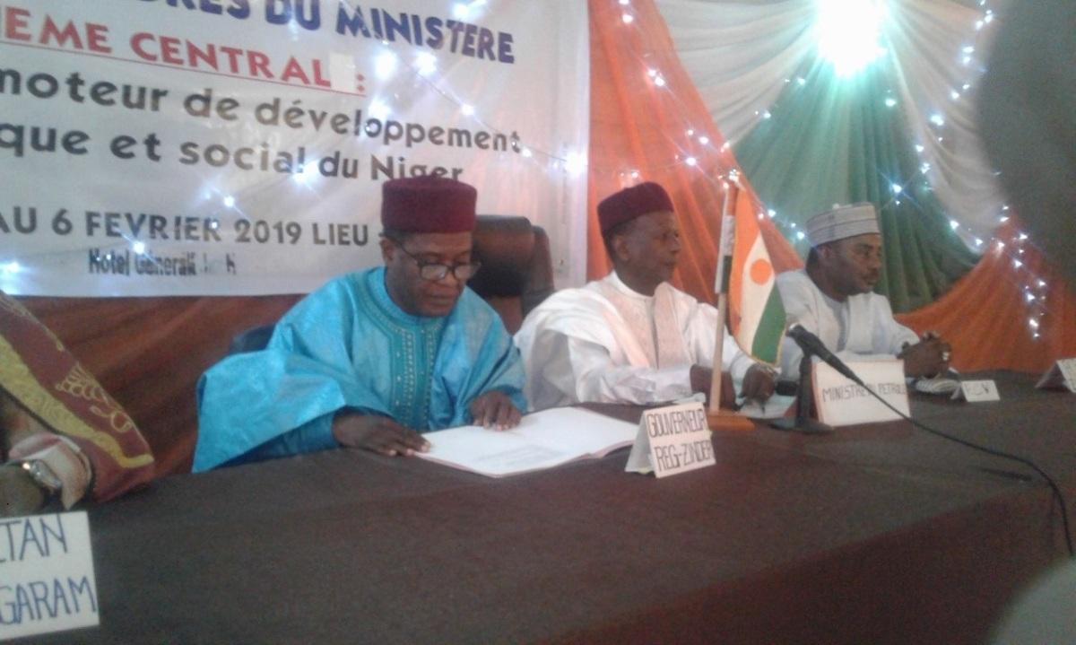 Niger – Le Niger a tiré du pétrole des recettes de 612 Milliards de FCFA (Ministre dupétrole)