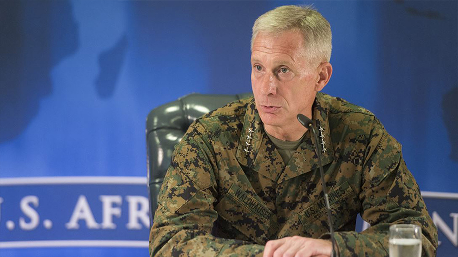 AFRICOM Commander: Troop reduction plan will not affect operations in Libya