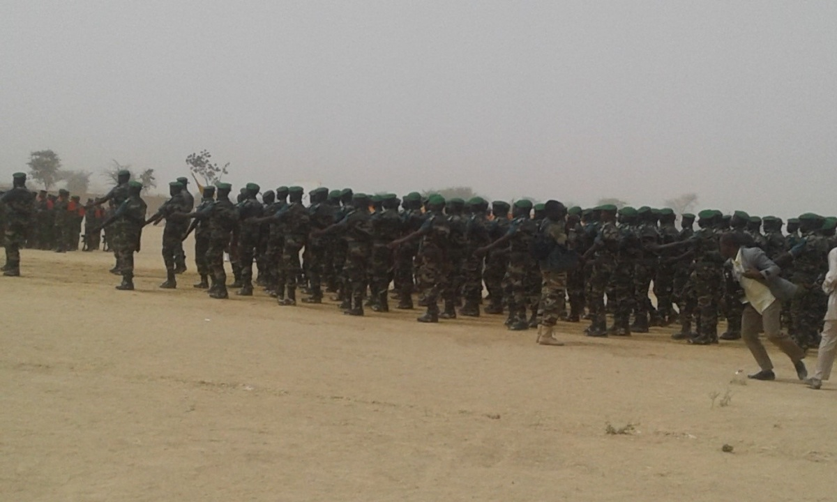 Niger – Contingent 2018 du Centre d'instruction de Zinder : 1010 recrues aptes aux métiers d'armes
