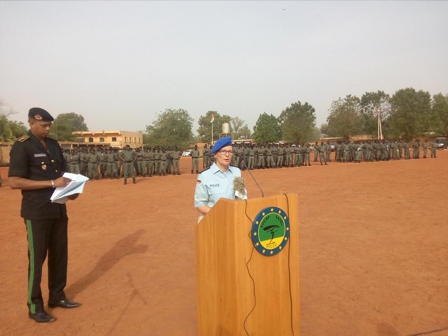 Le Niger crée une nouvelle compagnie de lutte contre la criminalité transfrontalière dans le sud dupays