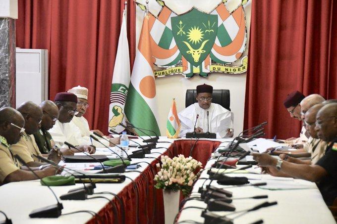 Niger – Réunion du Conseil National de Sécurité(CNS)