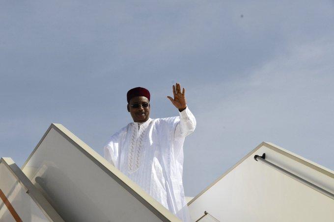 Niger – Le Président Issoufou Mahamadou en visite de travail auGhana
