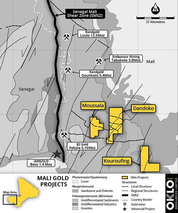 Mali – Oklo Resources confirms extensions to Seko prospect at Mali gold project