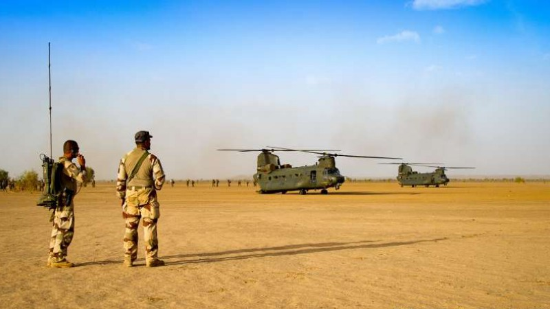 Mali – RAF Chinooks continue supporting French operations inMali