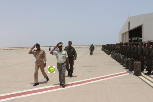 Mauritanie/RCA – Départ pour la Centrafrique du 7ème contingent de la gendarmerie nationale(14/07)