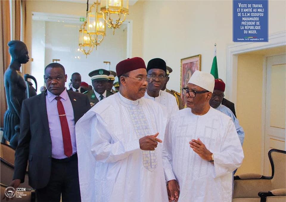 Mali/Niger – Communiqué final à l'issue de la visite officielle de Son Excellence M. Issoufou Mahamadou, président de la République duNiger