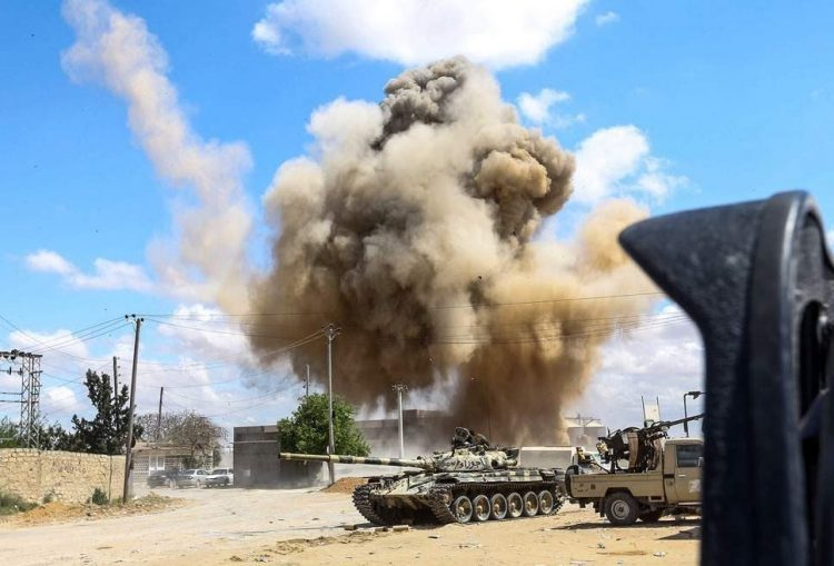 30 killed, over 100 injured from Haftar's forces as Libyan Army launches all-out offensive in southern Tripoli
