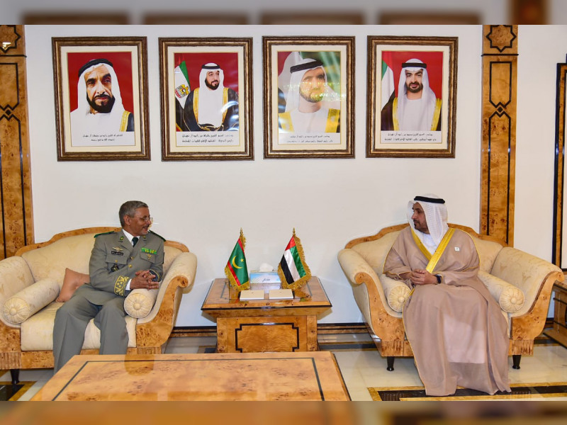UAE, Mauritania review Defence cooperation