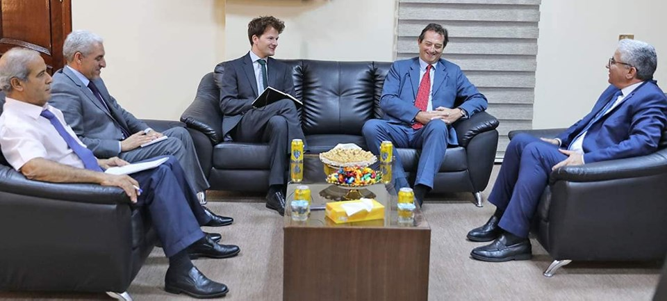 Libya and the UK discuss fostering security cooperation