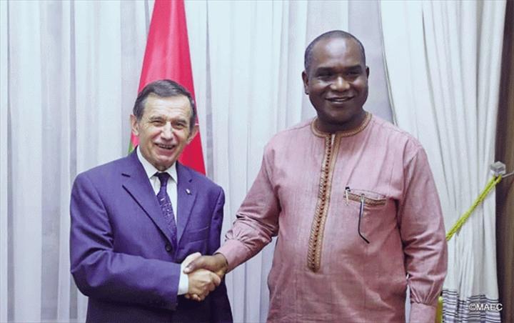 Coopération Burkina-Russie : «Il y a une nécessité de se concerter», ambassadeur VladimirBaykov