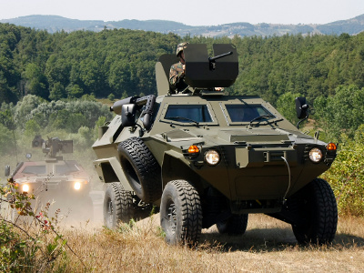 Ghana operating Otokar Cobra armoured vehicles