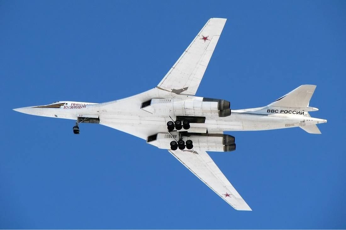 Russia Sends 2 Tu-160 Nuclear Bombers to South Africa in a Display of Defense Cooperation