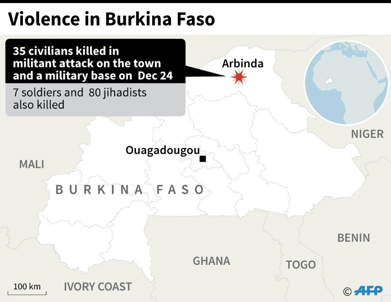 Burkina Faso in mourning after double jihadist attacks