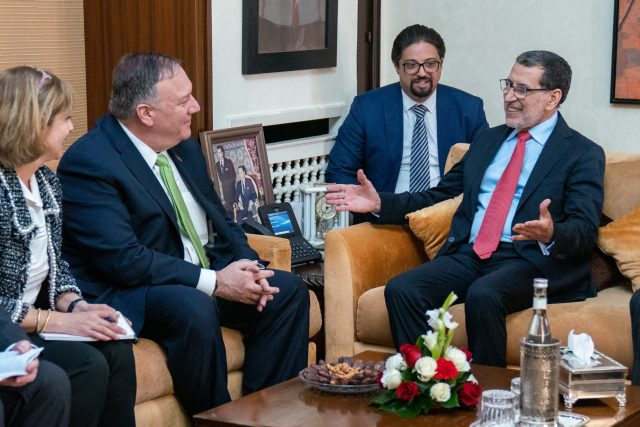 US Officials Share Details About Pompeo's Morocco Visit