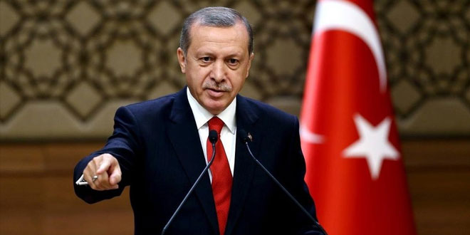 Erdogan Vows to Submit Request to Turkish Parliament to Deploy Country's Troops inLibya