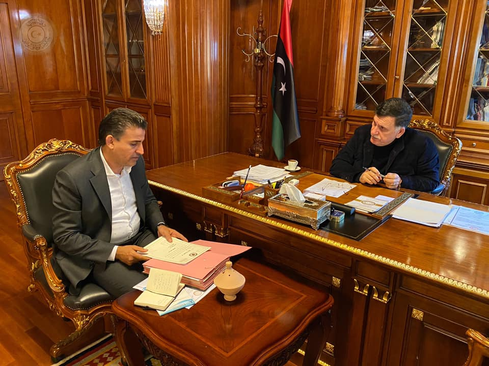 Libya – PC head reviews military situation with defence ministry