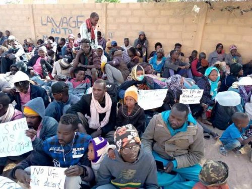 Sudanese refugees in Niger protest, demand relocation