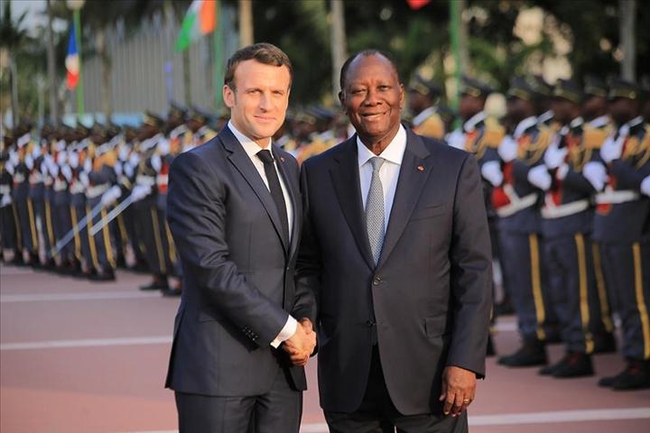 Economie et affaires militaires au programme de Macron à Bouaké etNiamey