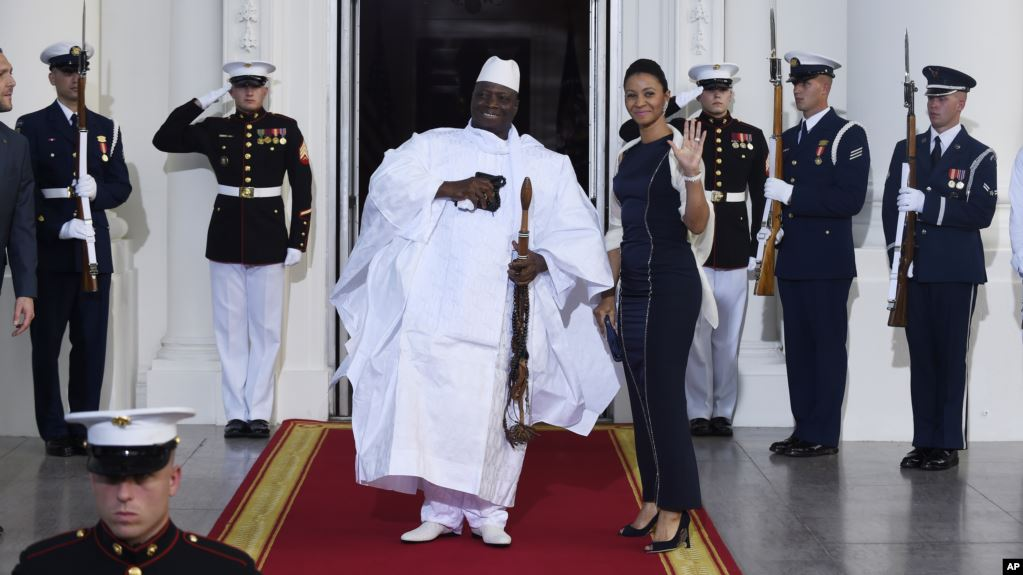 A Gambian Paramilitary Fighter Could Face Justice in the UnitedStates
