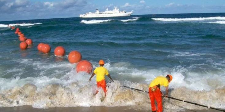 Installation of Sea cable linking Kenya and Djibouti starts