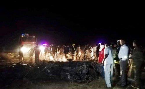 18 people killed in military plane crash in W.Darfur