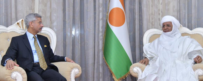 India/Niger –  Visit of External Affairs Minister to Republic of Niger
