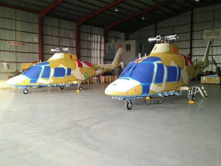 Nigerian Air Force receives second batch of AW109 helicopters
