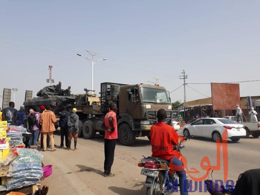 Tchad : 2000 militaires de la FMM de retour duNigeria