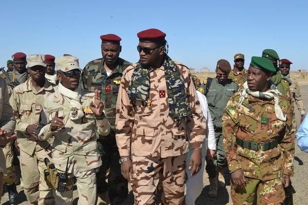 Tchad/Mali – Les ministres de la Défense tchadien et malien àTessalit