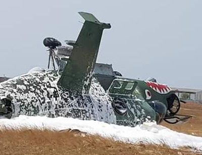 Another Ivorian Mi-24 crashes