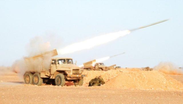 Algerian Military Conducts Live Ammunition Exercise Near Morocco'sBorder