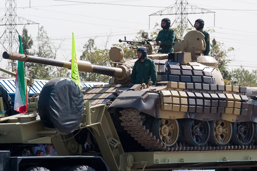 Iran is doing business with Russian T-72 tanks in the Middle East and Africa