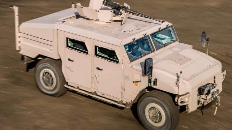 Morocco reportedly orders Sherpa armoured vehicles