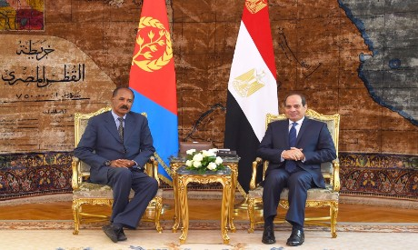 Egypt, Eritrea to bolster coordination to establish regional peace