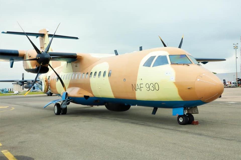 Nigerian Air Force ATR 42 returns home after maintenance in Germany