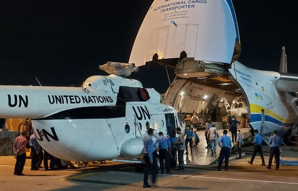 Bangladesh Air Force sends Mi-171 helicopters to Central AfricanRepublic