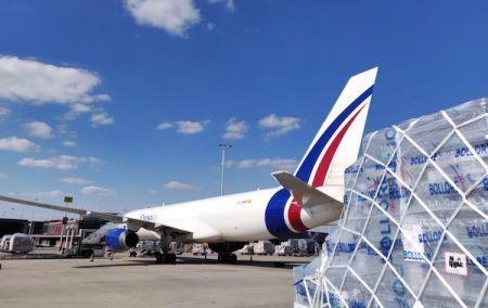 Bolloré Logistics prolonge le pont aérien avec l'Afrique pour assurer la continuité des approvisionnements