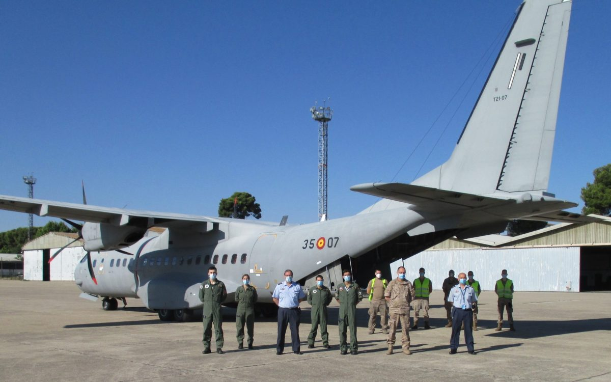 Spanish Air Force sends a second C295 to Senegal