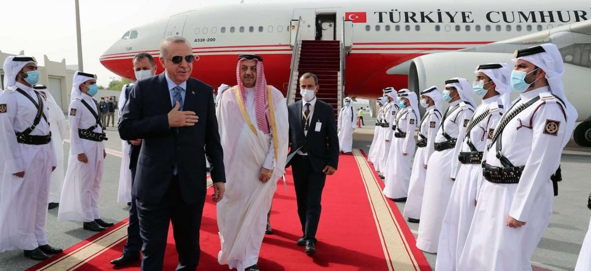 Turkey visits Arab allies to deepen security cooperation #Libya