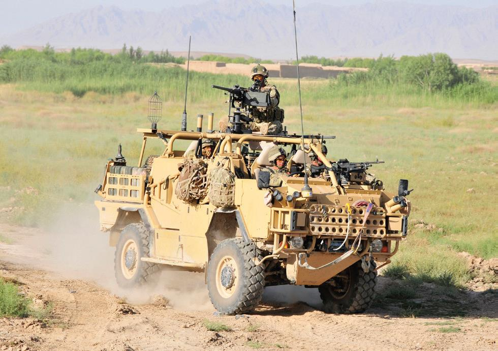 Mali : UK loans Estonia four Jackal vehicles to support counter-terror mission in Mali