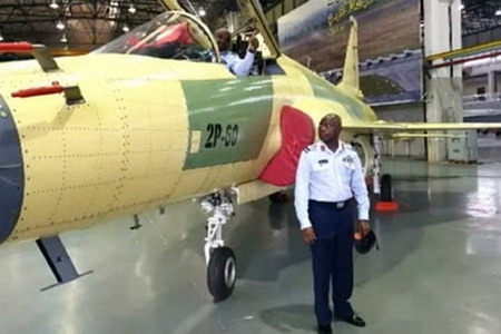 Nigerian JF-17 pilots training in Pakistan
