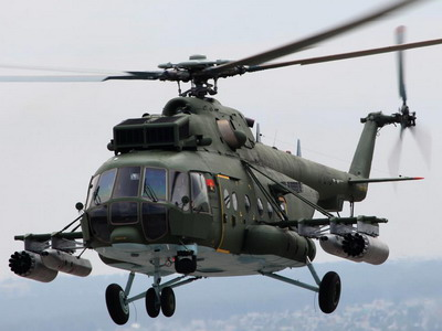 Niger receives Mi-171Sh helicopters